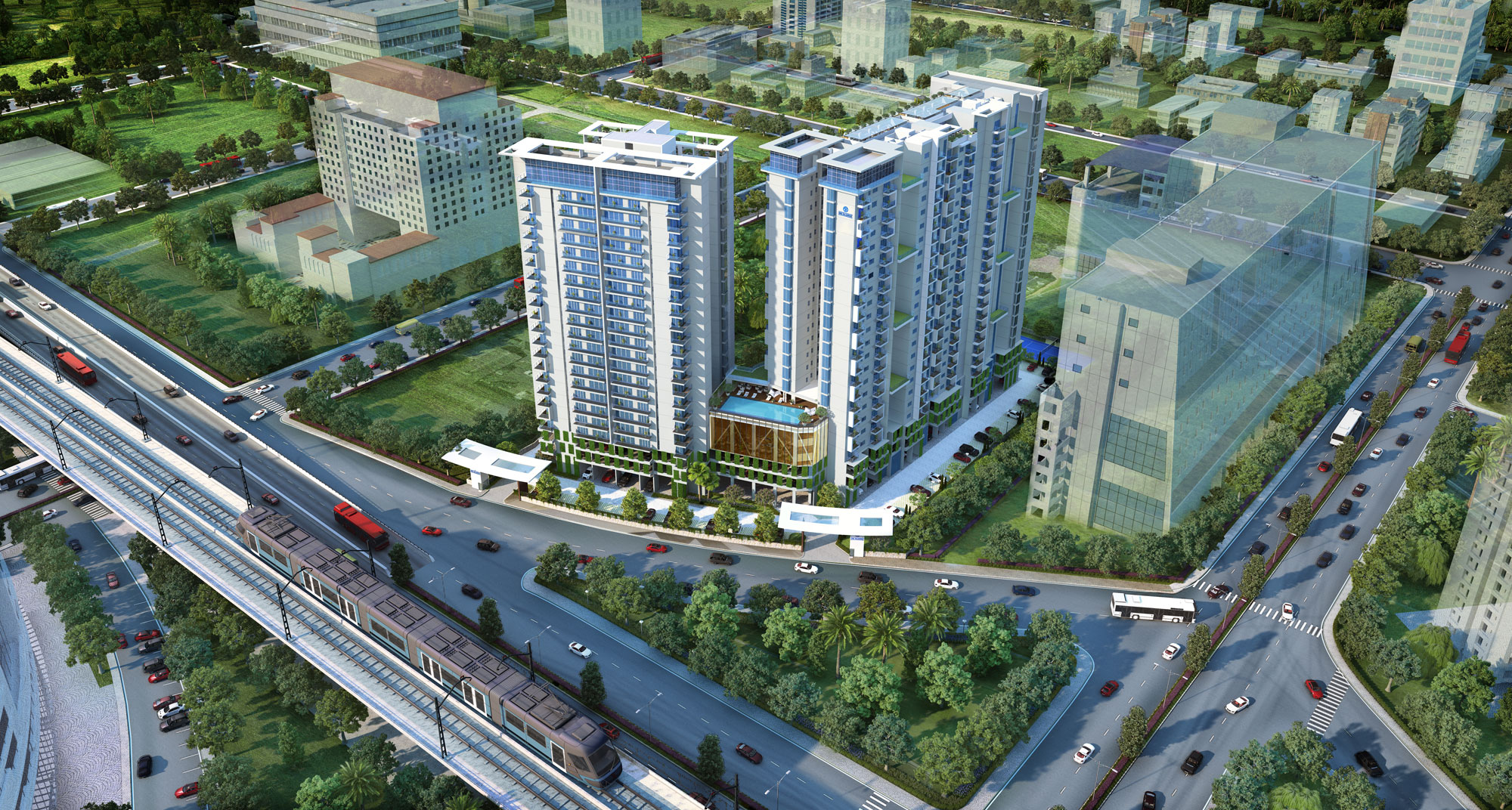 One Rajarhat - upcoming luxurious residential complex in Kolkata