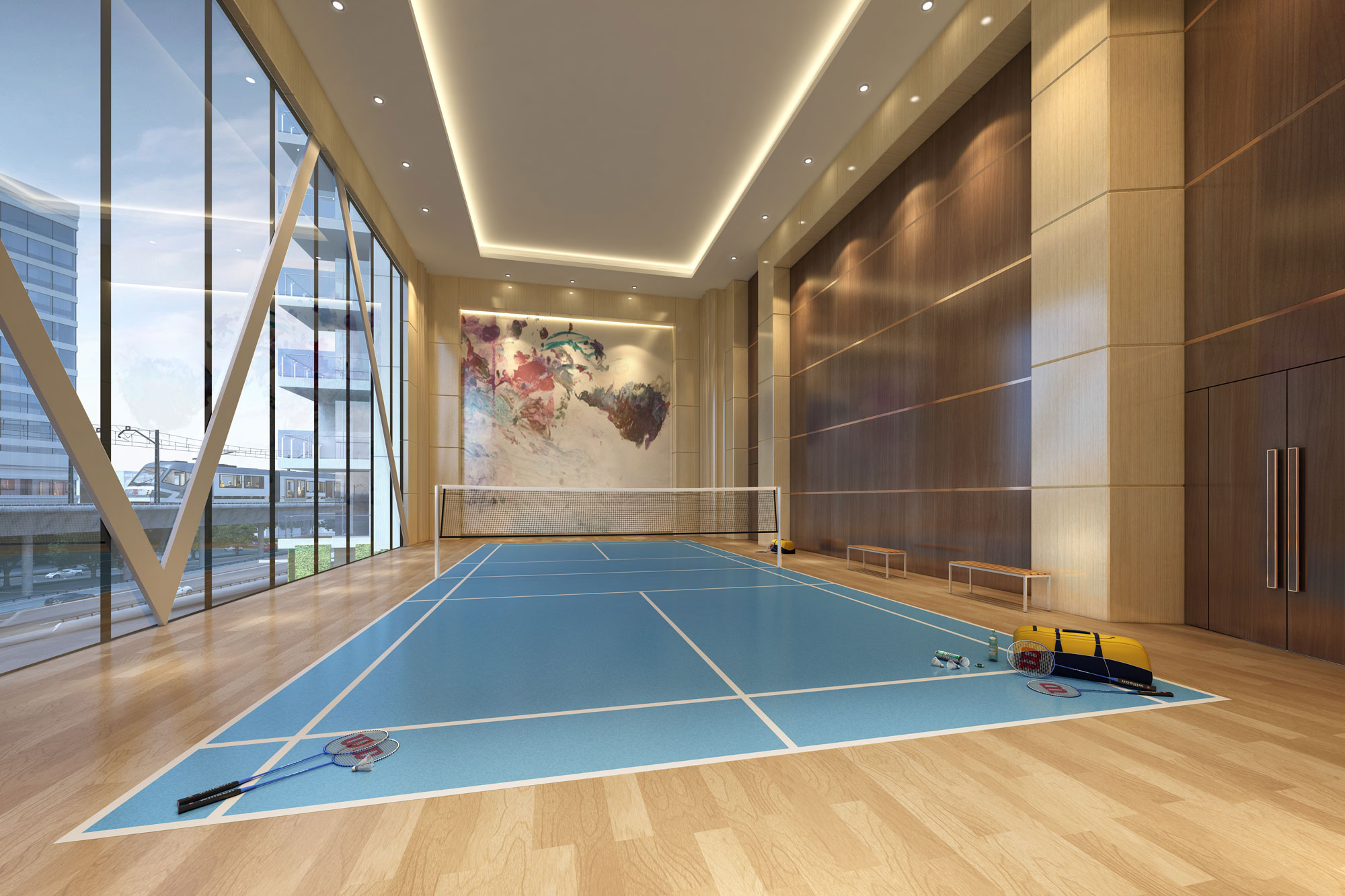 Luxurious residential projects with club facilities