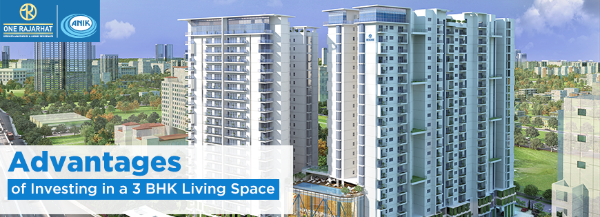Advantages of Investing in a 3 BHK Living Space