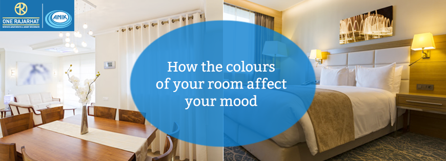 How the colours of your room affect your mood