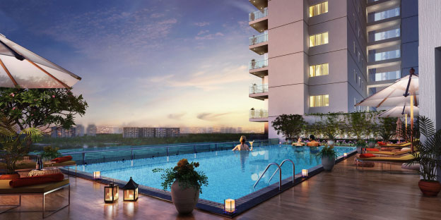 Flats in Newtown, Kolkata with Infinity Swimming Pool